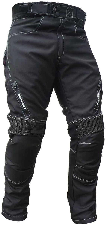 Sportliche Motorrad Hose Motorradhose Schwarz Gr. M - 3XL