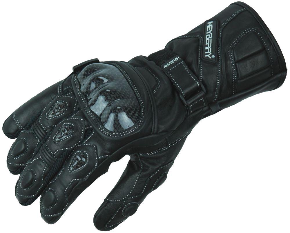 Motorradhandschuhe Leder Motorrad Handschuhe schwarz Gr. M L XL 2XL