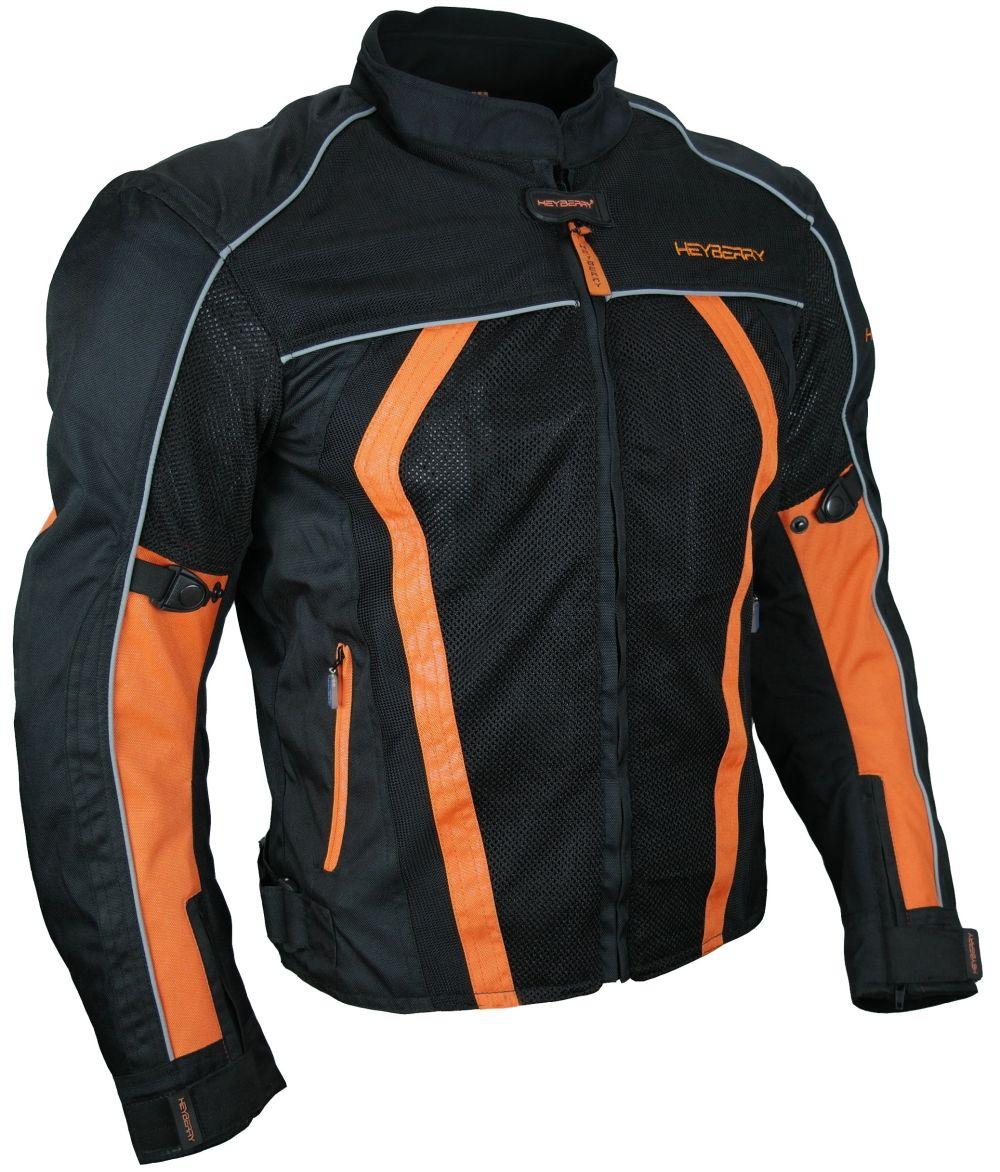 sommer motorradjacke airmesh motorrad jacke schwarz orange gr m l xl xxl ebay. Black Bedroom Furniture Sets. Home Design Ideas
