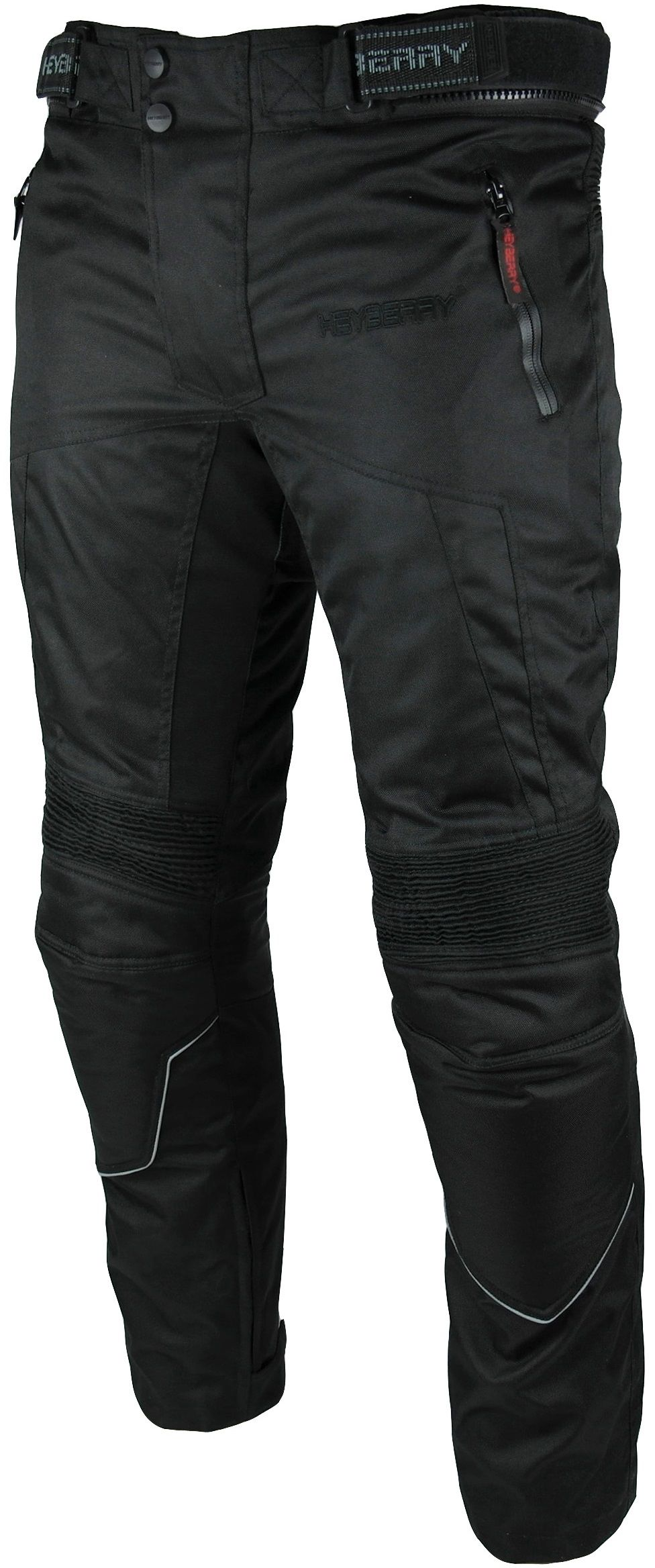 Heyberry Motorradhose Textil Schwarz Gr. M - 3XL