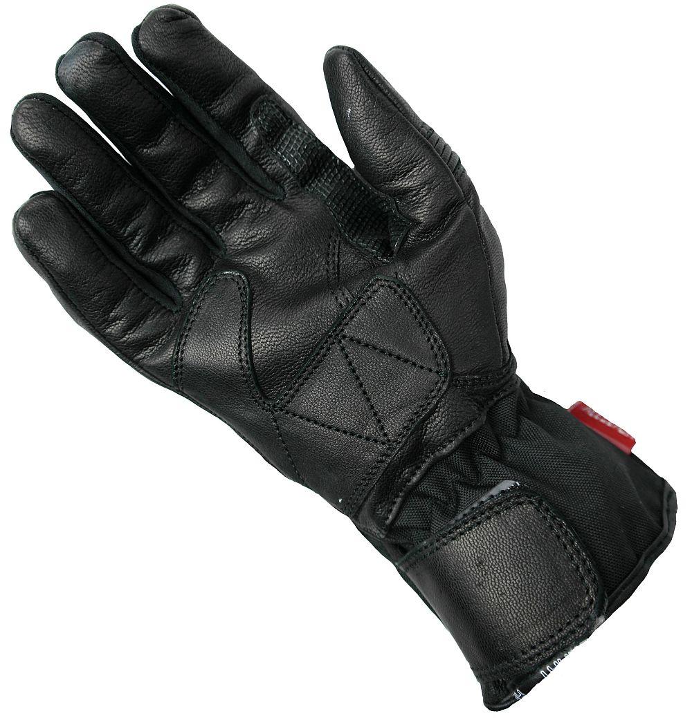 Heyberry Textil Damen Motorradhandschuhe Schwarz Gr. XS - XL
