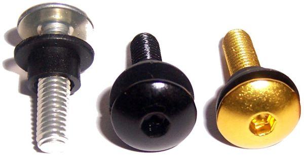 10er Set Alu Verkleidungsschrauben M6x15 Linsenkopf